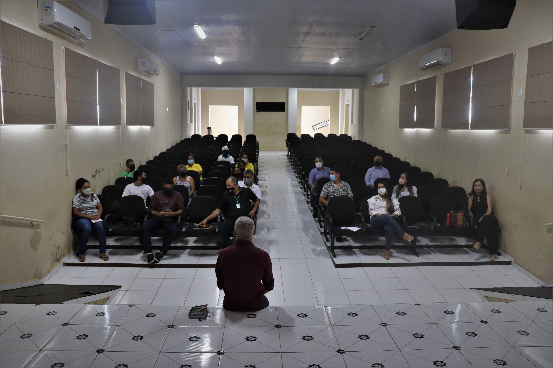 Foto: A reunião contou com a participação de diversas instituições