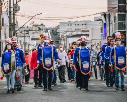 ALVORADA EM COMEMORAÇÃO AOS 102 ANOS DE EMANCIPAÇÃO POLÍTICA DE CACULÉ
